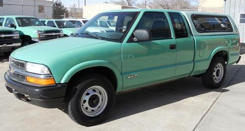2002 CHEVROLET Colorado